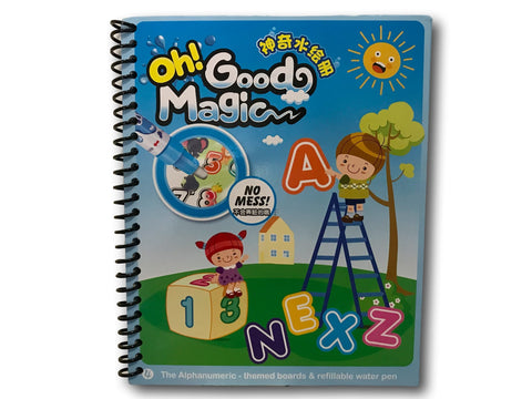 WD TOYS Drawing Water Pen Painting Magic Doodle Kid Boy Girl Book - Alphanumeric