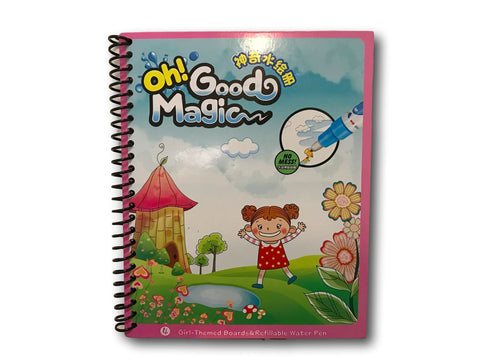 WD TOYS Drawing Water Pen Painting Magic Doodle Kid Boy Girl Book - Fairy Tales