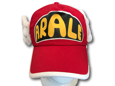 Unisex Dr.Slump Arale Angel Wings Snapback Hat Baseball Cap for Adult Kids Red
