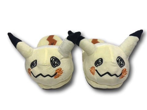 "Pokemon Pocket Monster Cosplay Adult Plush Rave Shoes Slippers 11"" Pikachu V2"