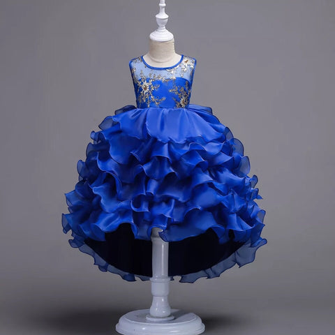 Girls kids party dress