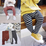 Girl line colour legging