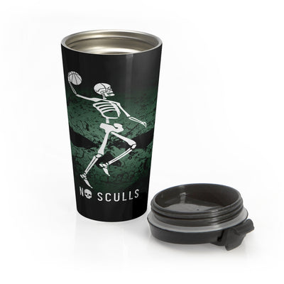 Basketball Stainless Steel Travel Mug - noscullscoffee