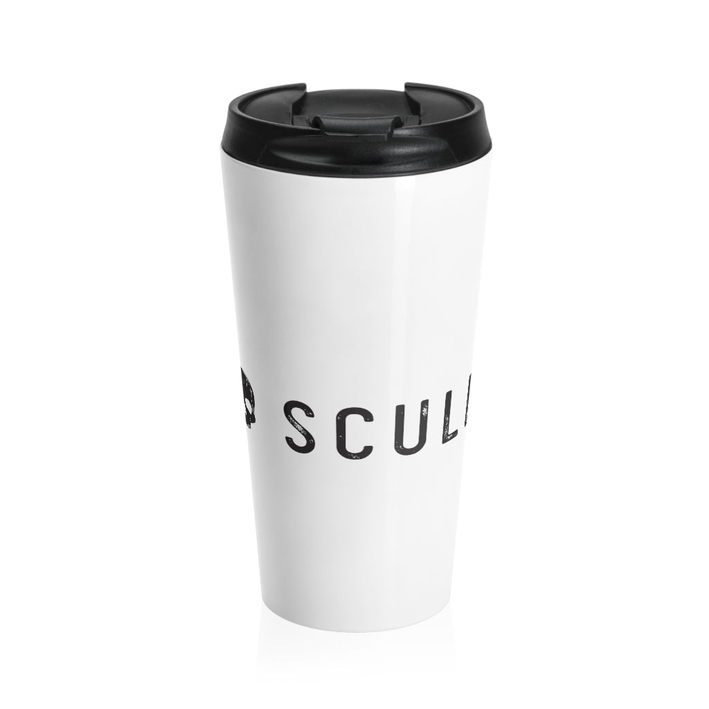 A-NS Stainless Steel Travel Mug - noscullscoffee