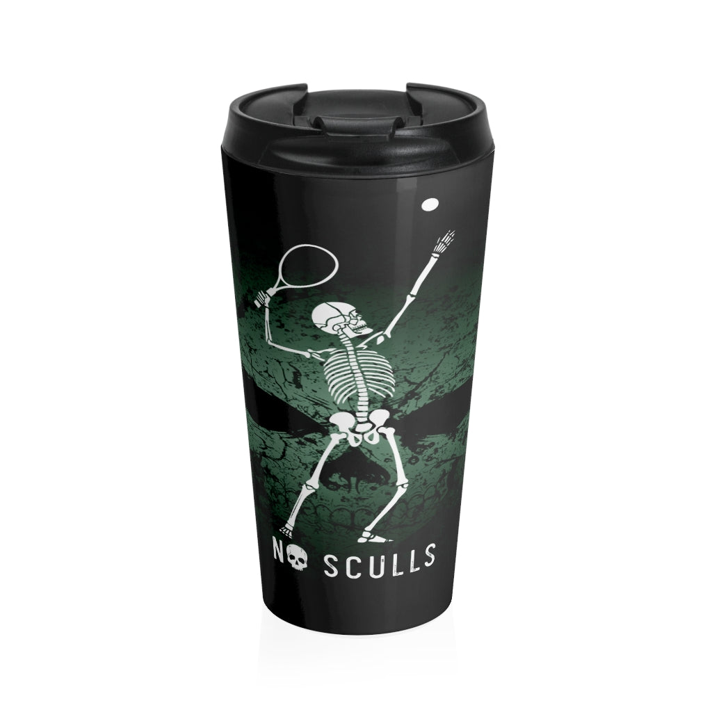 Tennis Stainless Steel Travel Mug - noscullscoffee