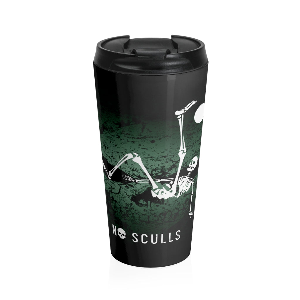 Soccer Stainless Steel Travel Mug - noscullscoffee