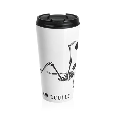 A-SC Stainless Steel Travel Mug - noscullscoffee