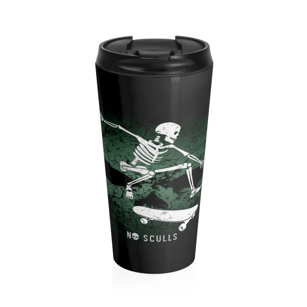 Skating Stainless Steel Travel Mug - noscullscoffee