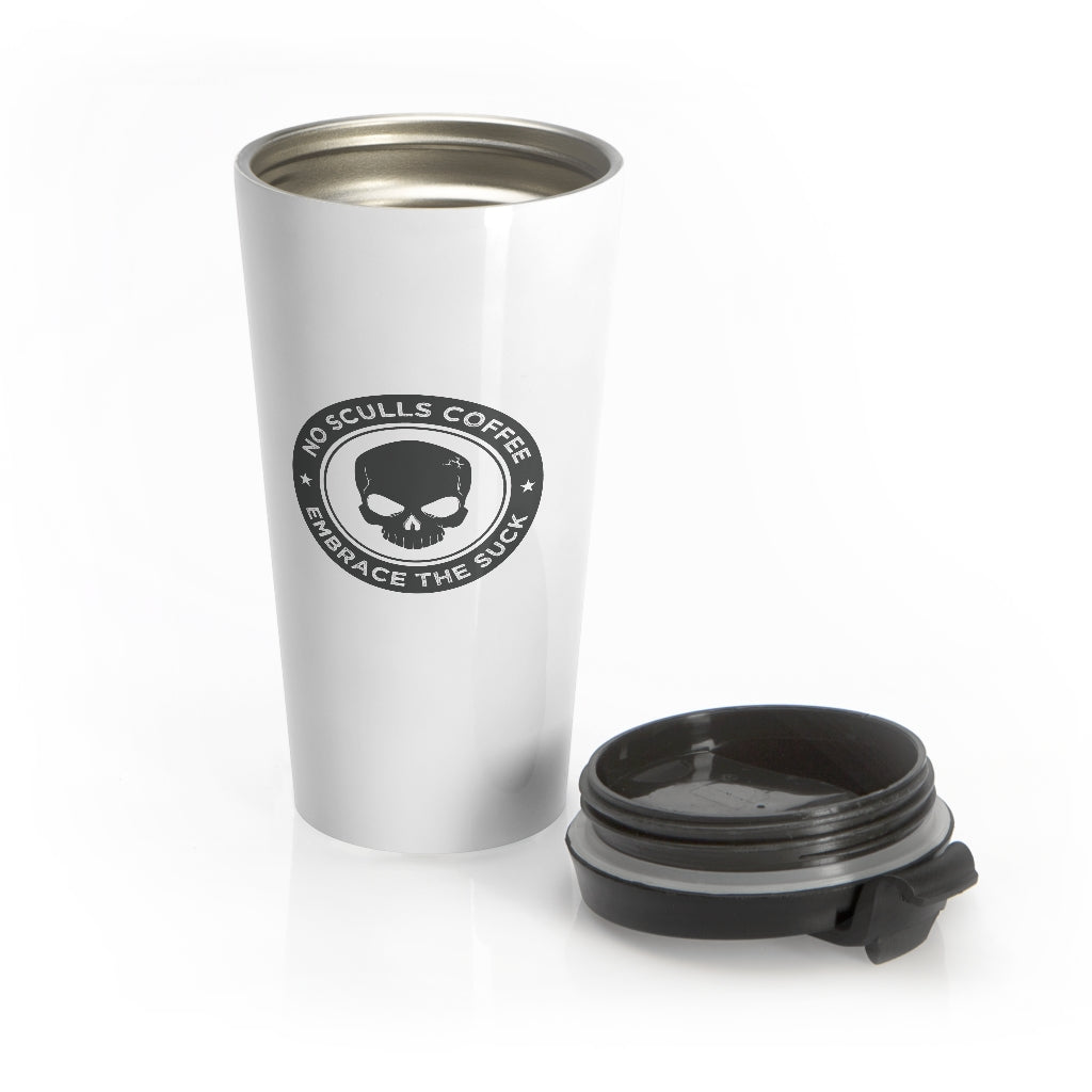 Stainless Steel Travel Mug - noscullscoffee
