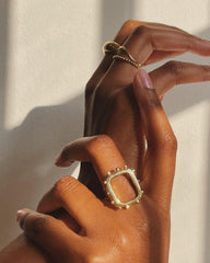 Frame Ring   Available at The Sable Collective