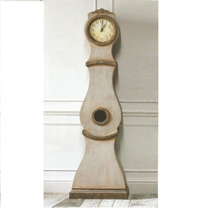 Mora Clock - Umber Colour with Gold