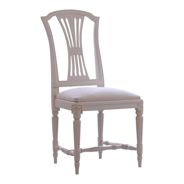 Gustavian hand painted chair