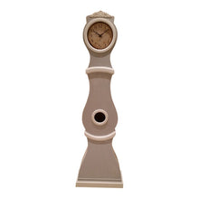 French Grey painted replica Mora Clock