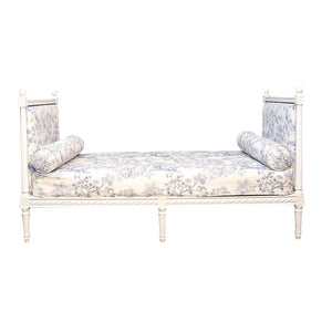 Gustavian Style Day Bed - detail