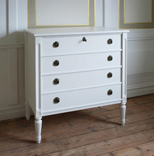 Karin Four Drawer Chest of Drawers - in situ