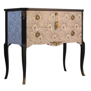 (205-1) Brasilia Louis XV Style Chest (Single) (DaVinci)