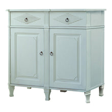 Hand painted 2 door sideboard