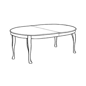 Rococo Dining Table - oval