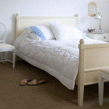 Classic Style Bed - carving