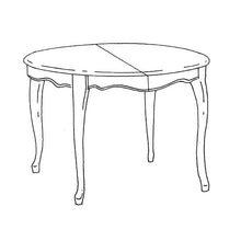 Louis XV Table - round