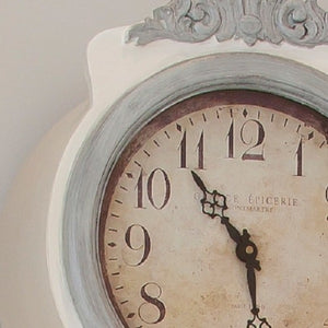 Swedish White painted replica Mora Clock -face