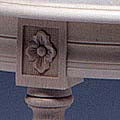 Bellman Oval Table  - detail