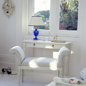 Gustavian dressing table in birch wood