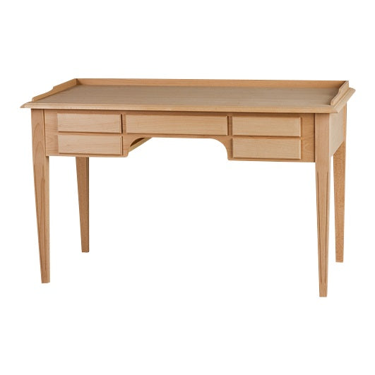 Gustavian 5 drawer desk
