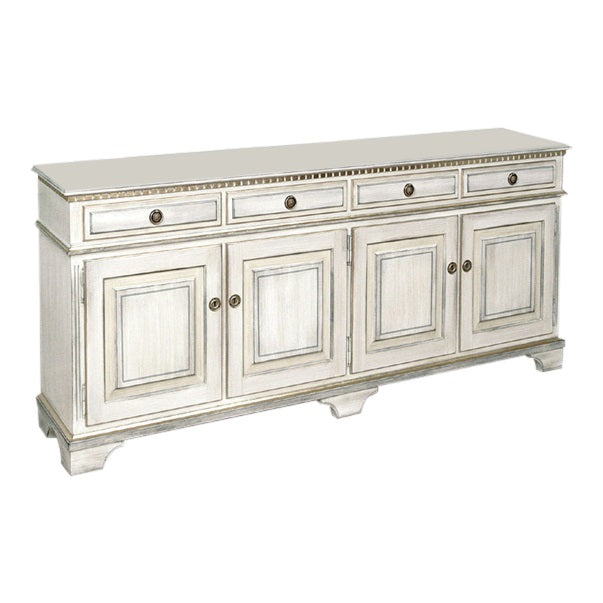 Gustavian 4 door sideboard