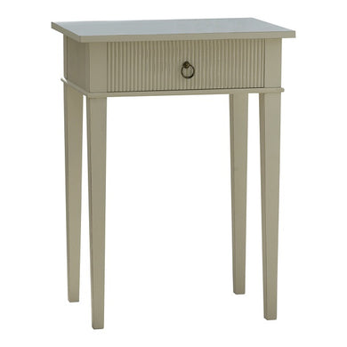 Kristian rectangular table with drawer
