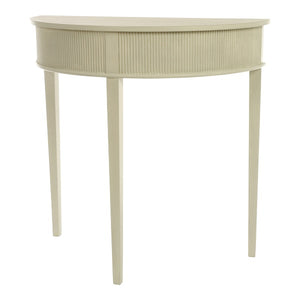 Kristian Half Moon Table - paint finish