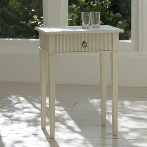 Kristian rectangular table with drawer - painted finish