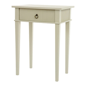 Kristian rectangular table with drawer - detail