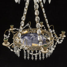 antique swedish chandelier - electrics