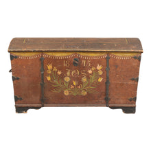 Swedish Wedding Chest, 1845