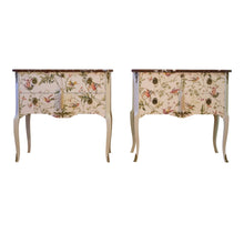 (200-2) Hummingbird Louis XV Style Chests (Pair) (DaVinci)