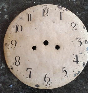 Antique Mora Clock Face