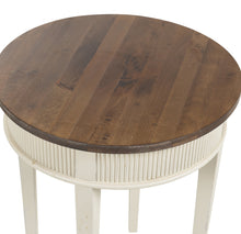 Gustavian Round Lamp Table