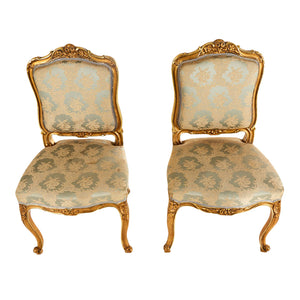 Antique Louis XV Style Chairs - top