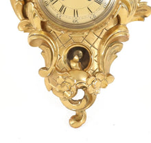 Rococo style wall clock from 1900 - base