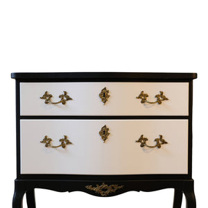 Pair of Rococo Bedside Commodes/Tables