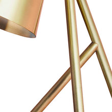 table lamp in brushed brass - frame