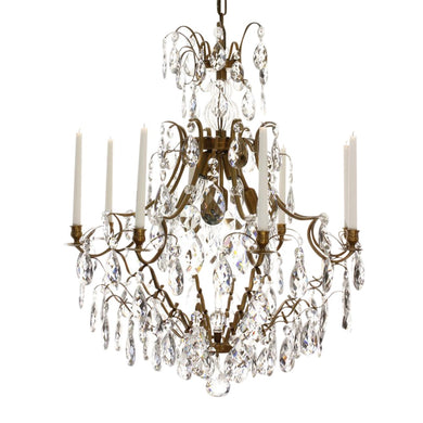 Baroque Crystal Chandelier