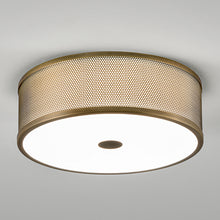 Golden Bronze Pendant Light - detail