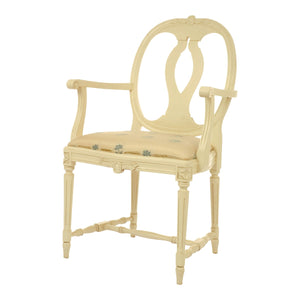 Anna Hand Carved Armchair - paint finish