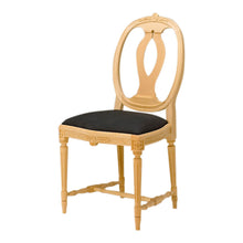 Anna Wooden Chair with Seat - wood