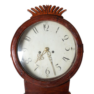 Mora Clock with crown detailing