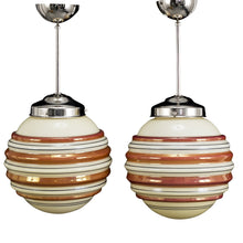 art deco pendant lights