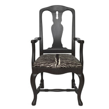 Bonde Birch Wood Armchair - front