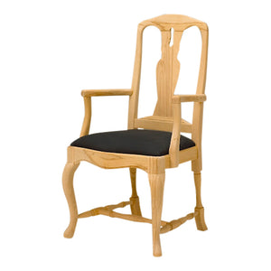 Bonde Birch Wood Armchair - wood